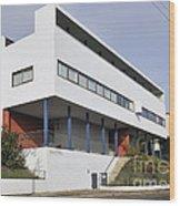 Weissenhof Settlement - Le Corbusier Building Wood Print