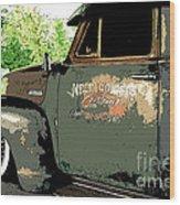 Weld County Customs Wood Print