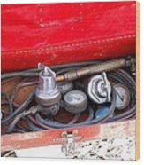 Welders Tools Wood Print