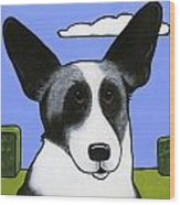 Welsh Cardigan Corgi Wood Print