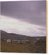 Welsh Valley Wood Print