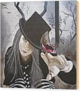 Wendy Wonker Wood Print