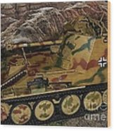 Wespe 105 Mm Self-propelled Gun Wood Print