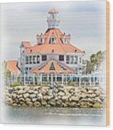 West Coast Charm Wood Print