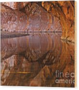 West Fork Illusion Wood Print