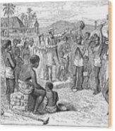 West Indies: Emancipation Wood Print by Granger