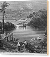 West: Settlement, C1838 Wood Print