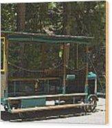 West Side Speeder Wood Print