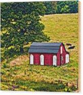 West Virginia 2 Paint Wood Print