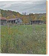 West Virginia Barn 3212 Wood Print