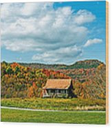 West Virginia Homestead Wood Print