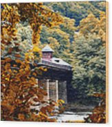West Virginia Morn Wood Print