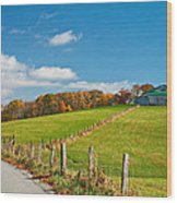 West Virginia Wandering 3 Wood Print
