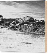Western Ireland Beach Wood Print