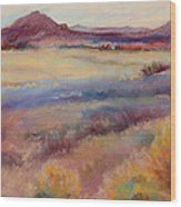 Western Landscape Wood Print by Rita Bentley