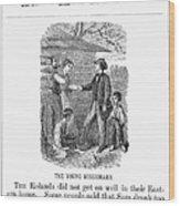 Western Missionary, 1876 Wood Print