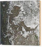 Western United States Wood Print by Stocktrek Images