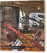 Westinghouse Engine Dearborn Mi Wood Print