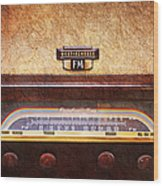 Westinghouse Fm Rainbow Tone Radio Wood Print