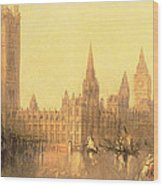 Westminster Houses Of Parliament Wood Print