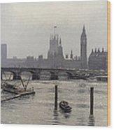 Westminster Wood Print
