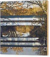 Westport Covered Bridge - D007831a Wood Print by Daniel Dempster
