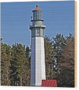 Westport Lighthouse Wood Print