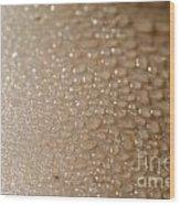 Wet Skin Wood Print