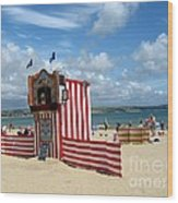 Weymouth Punch And Judy 3 Wood Print