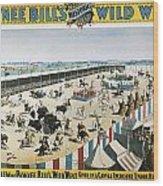 W.f.cody Poster, 1894 Wood Print