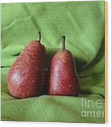 What A Pear Wood Print