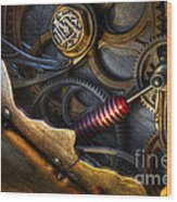 What Gear Am I In You Might Ask Wood Print by Bob Christopher