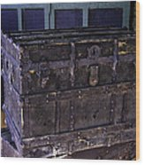 What Is In The Old Trunk Genoa Nevada Wood Print