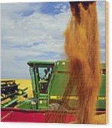 Wheat Harvest Wood Print