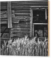 Wheat To Meet  Wood Print