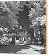 Wheatland - James Buchanan's Home Wood Print