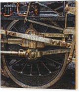 Wheel Wood Print