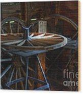 Wheeler Dealer Wood Print by Bob Christopher