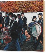 When Johnny Comes Marching Home Wood Print
