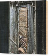 When One Door Closes Wood Print by JC Findley
