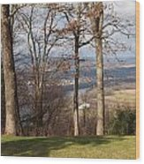 Where Are The Hills Wood Print by Robert Margetts