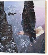 Where Eagles Dare Wood Print