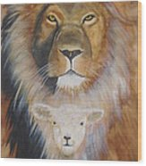 Where Love And Compassion Rule Wood Print