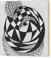 Whimsey 4 Wood Print