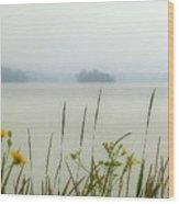 Whisper In The Fog Wood Print