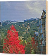 Whistler Red Wood Print