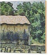 White Bear Farm Wood Print