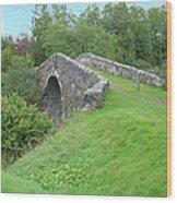 White Bridge Scotland Wood Print