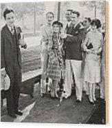 White Flannels, 1927 Wood Print