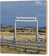 White Gateway Wood Print